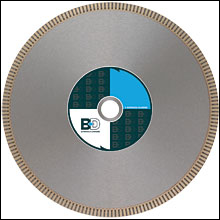 "10"" BD-301 Supreme Notched Rim Diamond Blade - Hard"