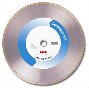 "14"" MK-415 Supreme Continous Rim Core Saw Blade - Hard"