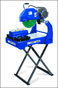 "BD2003E 14"" Core Saw with Stand & Blade"