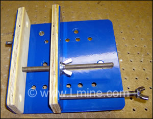Rock Vise for Core Saw