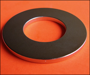 "Rare Earth High Pull Ring MAGNET 2"" OD (26 lbs pull)"