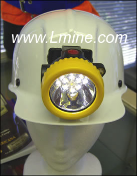Cordless SE Miners Dual LED Cap Lamp Li-Ion with Battery Charger