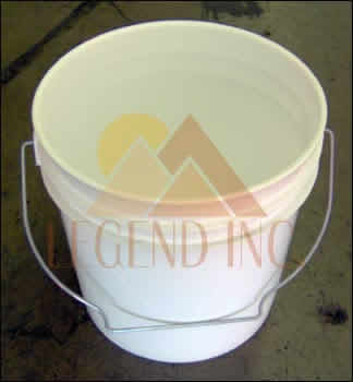 1 gallon bucket w/out lid