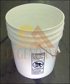 5 gallon plastic bucket w/out lid