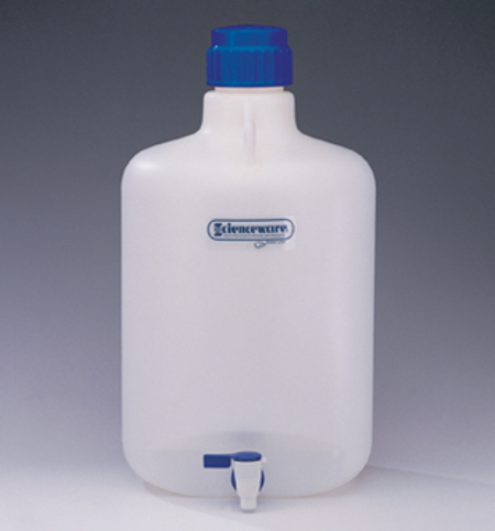 5 Gallon Polypropylene Carboy Bottle with Spigot