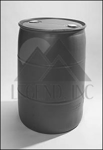 NEW - 55 Gallon HDPE Tight-Head Blue Poly Drum (UN Y1.8/100)