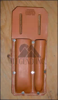 Gfeller Leather Double Chisel Holster