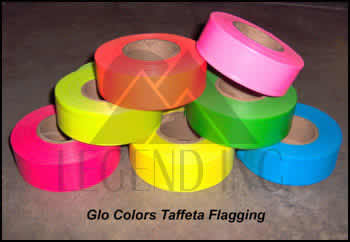 Taffeta Flagging Tape Blue-Glo