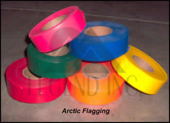 Arctic Flagging Tape Orange-Glo