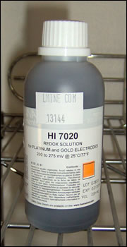 230 ml Redox (ORP) Test Solution Gold & Platinum Electrodes HI 7020M