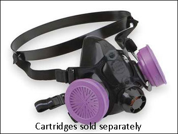 North 7700 Series Silicon Half Mask Respirator - Size Small