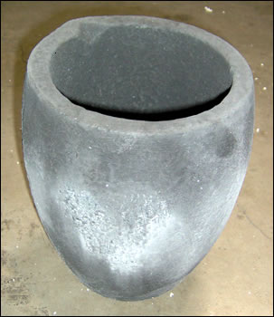#10 Silicon Carbide (SiC) Crucible