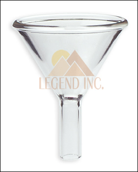 80 mm Glass Powder Funnel