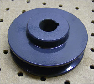 Lower Pulley for crucible Mixer