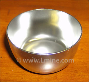 25 ml Low Form Zirconium Crucible