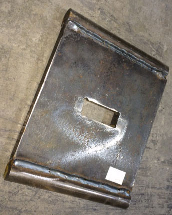 "Toggle Plate for Morse 8"" x 8"" Jaw"