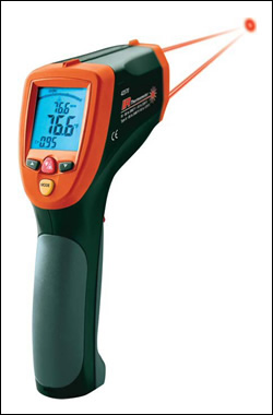 High Temp Dual Laser InfraRed (IR) Thermometer Gun (3992°F)