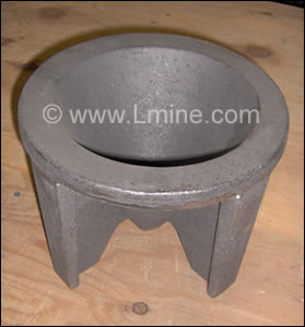 Conical Slag Mold-8""