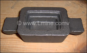 Small Bullion Molds