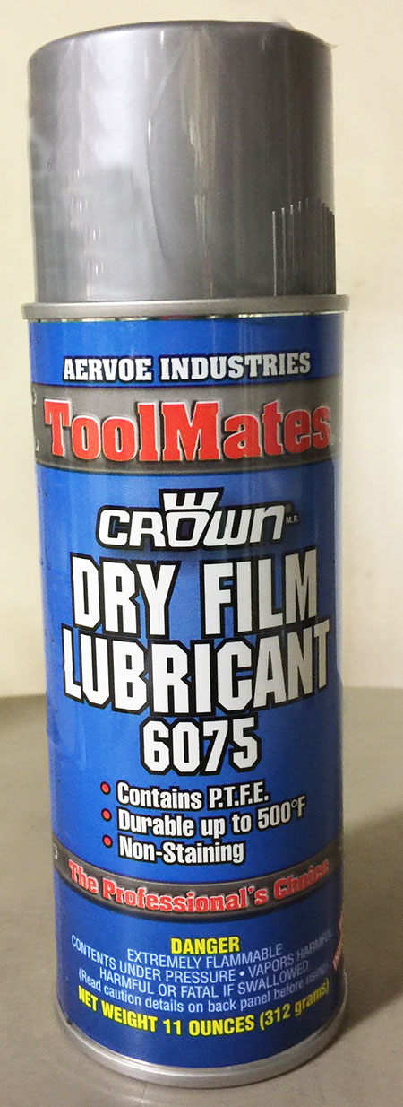 Mold Release 16oz Can - Dry Film Lubricant