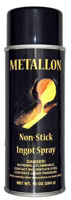 Metallon Non-Stick Ingot Mold Spray