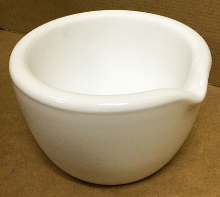 210mm Porcelain Mortar - #60328