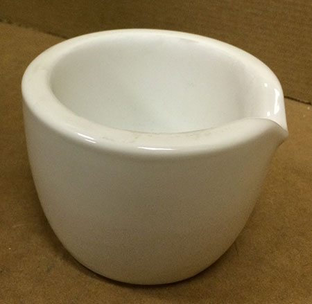 163mm Porcelain Mortar - # 60325