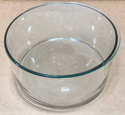 Beaker for 49 place Quartz Parting Basket w/cover