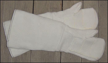 "23"" Reinforced He-Tex Mitts Double Palm"