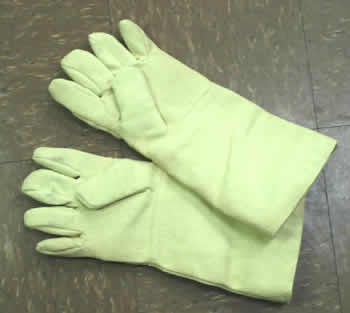 "18"" Heat-resistant Wool Lined Gloves"