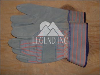 Leather Prep Gloves with Leather Safety Cuff