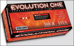 Evolution One Latex - Large (Box of 100)