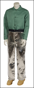 Aluminized Chaps Cowboy Style - One Size Fits All