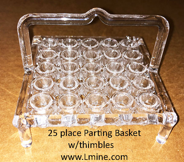 Quartz Parting Basket 25 place