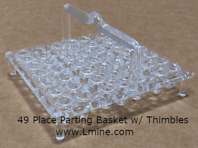 Quartz Parting Basket 49 place