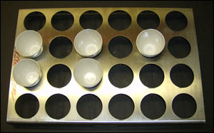24 Place 40-50ml Parting Cup Tray