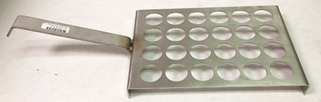 24 Place 15ml SS Parting Cup Tray (small)