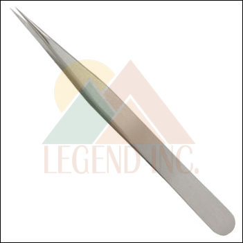 "4.75"" Ultra Fine SS Pointed Tweezers"