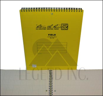 "#185 Field Top Spiral Maxi-Spiral Notebook - 8.5"" x 11"""