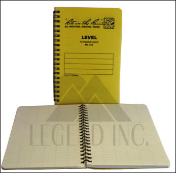 #313 Level Spiral Notebook