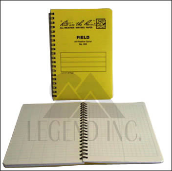#353 Field Spiral Notebook