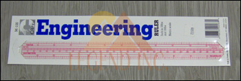 "C-thru M-100 Engineers Combo Scale Ruler - 12""/30cm"