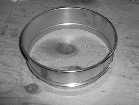 "8"" SS Sieve Spacer Ring (2506) Full Height"