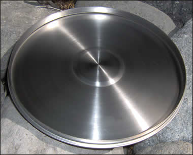 "3"" SS Sieve Cover with Ring (8412)"