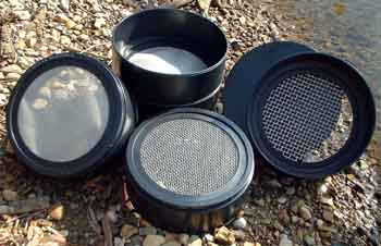 Plastic Sieve / Screen Kits 4 screen Set