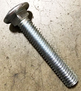 Ro-Tap 3/8 carriage bolt for RX-29, #39