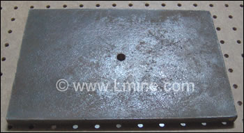 L-2 Jaw Crusher Stationary jaw plate