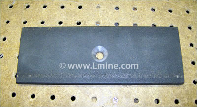 WD-74A Stationary Jaw Plate-Manganese Steel