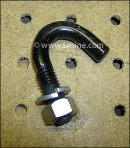 WD-133 U-Hook Bolt for Spring Rod for Movable Jaw