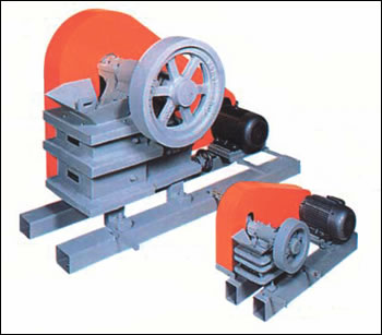 "Morse 1000 2.25x3.5"" Jaw crusher with motor"